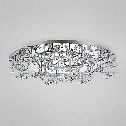 Eurofase 25680 Vista 24-Light Flushmount, Chrome