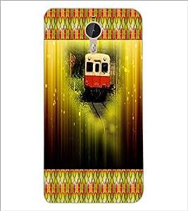 PrintDhaba Train D-4606 Back Case Cover for LETV LE 1 PRO ULTRA (Multi-Coloured)