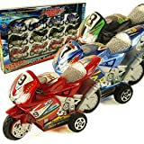 Pull Back Motorcycle Collections Toys for Kids Assorted Colors