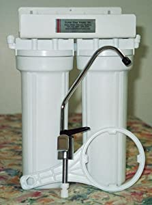Fluoride Removal Dual Undercounter Water Filter Purifier with KDF & GAC