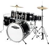 XDrum Junior Pro Kinder Schlagzeug Drumset schwarz