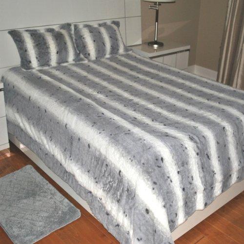 Faux Fur Comforter King front-714608