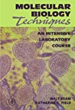 img - for Molecular Biology Techniques: An Intensive Laboratory Course by Ream, Walt, Field, Katharine G. (1998) Paperback book / textbook / text book