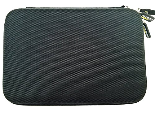 AZ-Cover 7-Inch Tablet Semi-rigid EVA Bubble Foam Case (Black) With Wrist Strap For SANEI GREENPOINTSELECT 7'' Android Smart Phone Tablet + One Capacitive Stylus Pen at Electronic-Readers.com