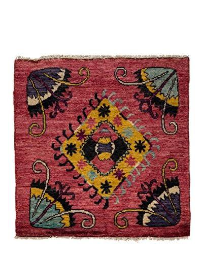Darya Rugs Kaitag Oriental Rug, Red, 4' 2 x 4'