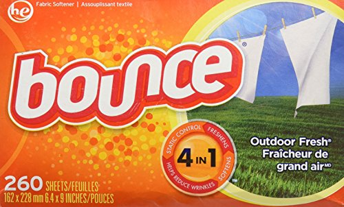 Bounce Outdoor Fresh (old version) - 260 Sheets (Bounce For Dryer compare prices)