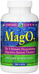Aerobic Life Mag 07 Oxygen Digestive System Cleanser Capsules, 180 Count