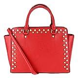 Abrazo Style Diva Women's Handbag(Red)(SIKN850)