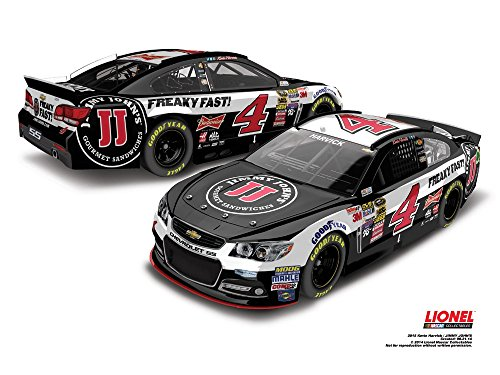 Lionel Racing CX45865JNKH Kevin Harvick #4 Jimmy John's 2015 Chevy SS 1:64 Scale ARC HT Official NASCAR Diecast Car