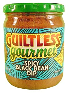 Guiltless Gourmet Spicy Black Bean Dip, 16 Ounce -- 12 per case. by Guiltless Gourmet