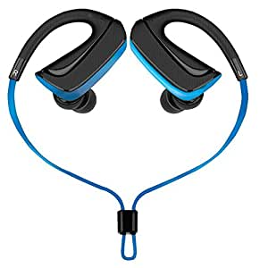 Envent LiveFit 510 In-Ear sports Bluetooth Headphones With Mic,Great Bass & Comfort, In-Ear Wireless Headphones ideal for Sports Enthusiasts- Blue