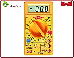 Haoyue DT830D Digital Multimeter With High Range- LCD Disply