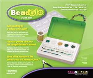 Artograph Beadglo Light Box, 5-Inch-by-9-Inch
