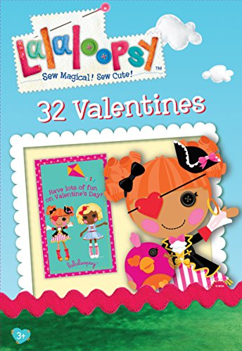 Paper Magic 32CT Showcase Lalaloopsy Kids Classroom Valentine Exchange Cards - 1