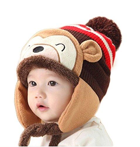 vimeet-baby-kinder-winter-warm-gestrickter-mutze-beanie-strickmutze-wintermutzen-earflap-hut-kappe-s