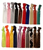 No Crease Hair Ties 20 Pack By Kenz Laurenz