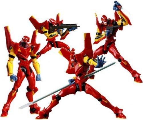 Neon Genesis Evangelion : EVA Unit 02 Nigoki Revoltech Red Action Figure