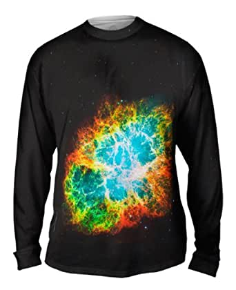 Amazon.com: NewWorldCo- Crab Nebula Space Galaxy -Tagless ...