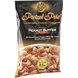 Pretzel Pete Gourmet Pretzel Nuggets, Peanut Butter Filled, 4.5-Ounce Bags (Pack of 15)