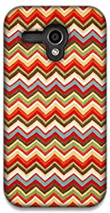The Racoon Grip printed designer hard back mobile phone case cover for Moto G (1st Gen). (Summer Che)