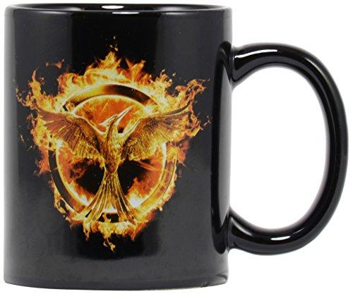 Hunger Games Mockingjay Movie Part 1 ? Decal Mug ?Fire Burns Brighter?
