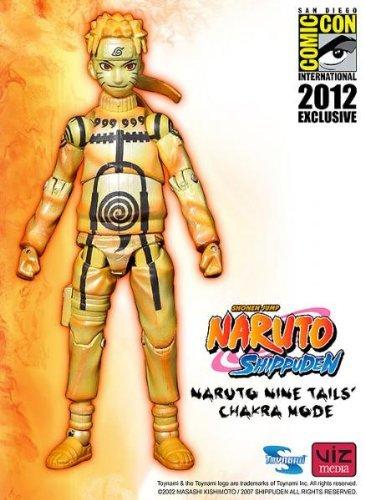 SDCC2012 NARUTO Naruto Toynami Toinami made Uzumaki Naruto nine tails chakra mode action figure (Naruto Nine Tails Figure compare prices)