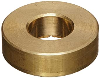 Brass Flat Washer, Inch, Made in US
