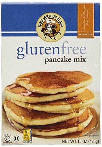 King Arthur Flour Pancake Mix, Gluten Free, 15-ounces (Wheat Free Market Baking Mix compare prices)