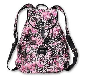 Amazon Com Victoria S Secret Pink Backpack Pink Leopard