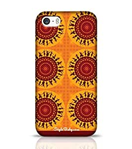 Style baby Illustration Of Indian Classical Dancer Apple iPhone 5S Phone Case