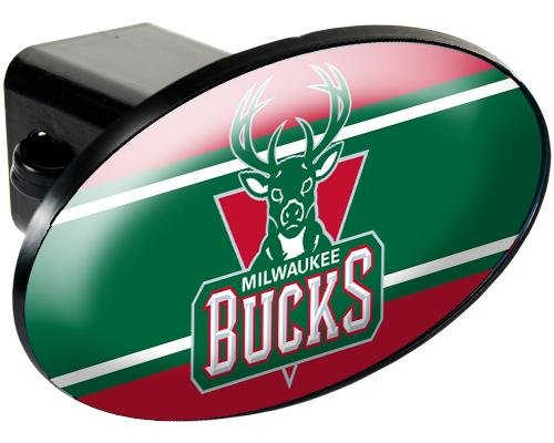 Nba Milwaukee Bucks Trailer Hitch Cover back-589933