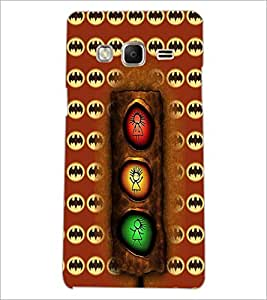 PrintDhaba Signal D-6074 Back Case Cover for SAMSUNG Z3 (Multi-Coloured)