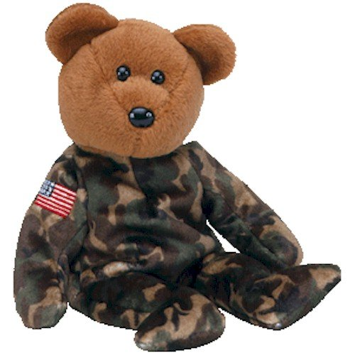 TY Beanie Baby - HERO the USO Military Bear (w/