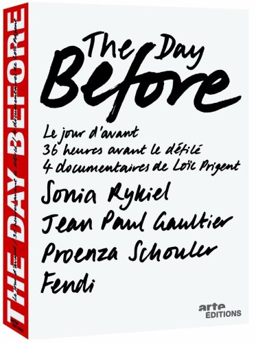 The day before - Le jour d'avant
