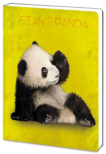 Tree-Free-Greetings-Recycled-Soft-Cover-Journal-Ruled-55-x-75-Inches-160-Pages-Giant-Panda-Themed-Wildlife-Art-88799