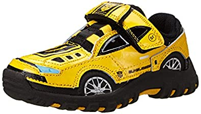 Buy Stride Rite Transformers BumbleBee Lighted Character Athletic (Toddler Little Kid),Yellow... by Stride Rite