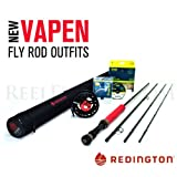 "Redington Vapen Red 890-4 Fly Rod Outfit (9'0"", 8wt, 4pc)"