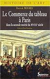 echange, troc Patrick Michel - Le Commerce du tableau à Paris dans la seconde moitié du XVIIIe siècle : Acteurs et pratiques