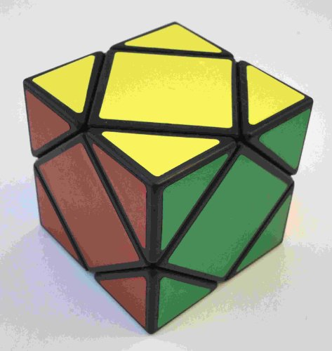 "Lanlan® Skewb Puzzle Speed Cube ( Black Base Color"")"