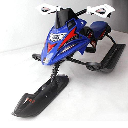ALUK-Enfants-adultes-Ski-Moto-Avec-frein-Sled-Ice-Car-sans-alimentation