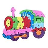 Juguetes Educativos Rompecabezas Puzzles N�meros de Cartas - Multicolor 8