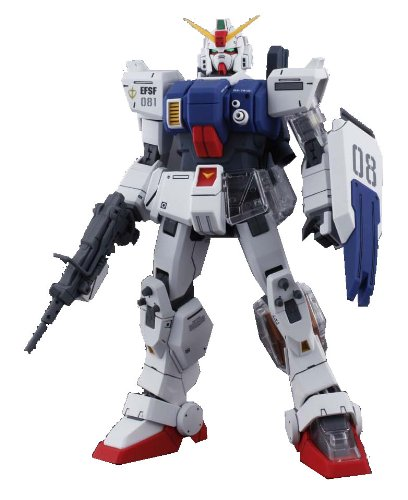 Gundam RX-79G Gundam Ground Type with Extra Clear Body parts MG 1/100 Scale