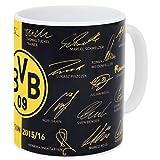 BVB(ドルトムント) オフィシャル マグカップ 15-16 サインプリント 15703500