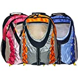 K-Cliffs Colorful Sporty Outdoor School Backpack ~ K Cliffs