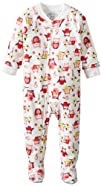 Saras Prints Baby-Girls Infant Footed Pajama