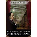 The Adventures and Memoirs of Sherlock Holmes - books 1 and 2 (illustrated)di Arthur Conan  Doyle