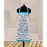 Dekor World Mom Love Printed Apron (Pack Of 1 Pc)