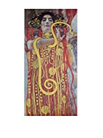 Artopweb Panel Decorativo Klimt Hygieia 50x100 cm Multicolor