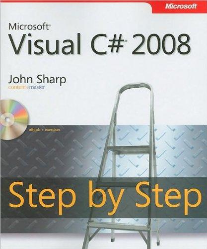 J.Sharp'sMicrosoft Visual C# 2008 Step by Step [Paperback]2007)