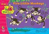 FIVE LITTLE MONKEYS - DR. JEAN LAP BOOK